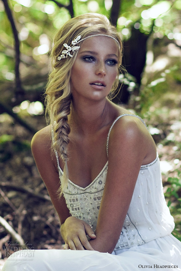 olivia headpieces 2015 wedding bridal headband silver headband swarovski crystal style walnut