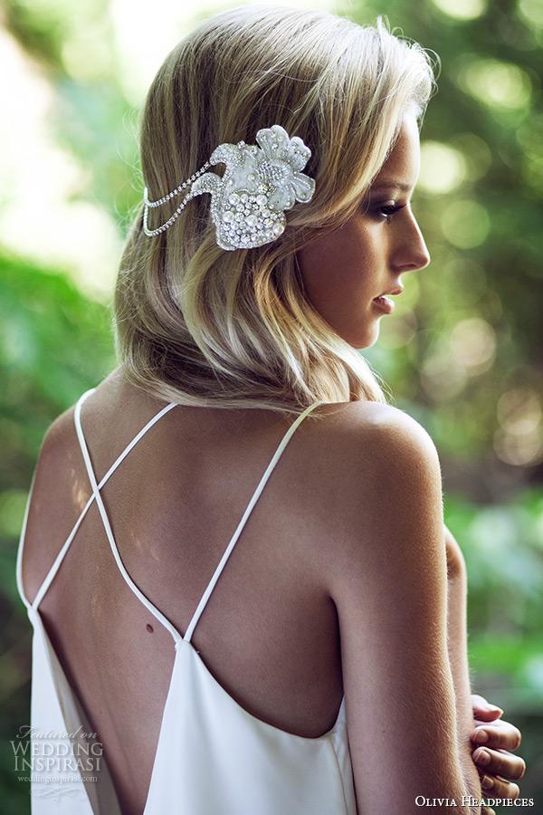 olivia headpieces w label 2015 wedding bridal comb silver swarovski crystals style wanderer