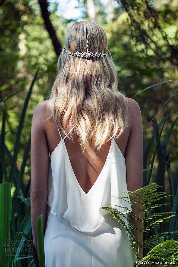 olivia headpieces w label 2015 wedding bridal swarovski crystal headband bohemian style wyn back