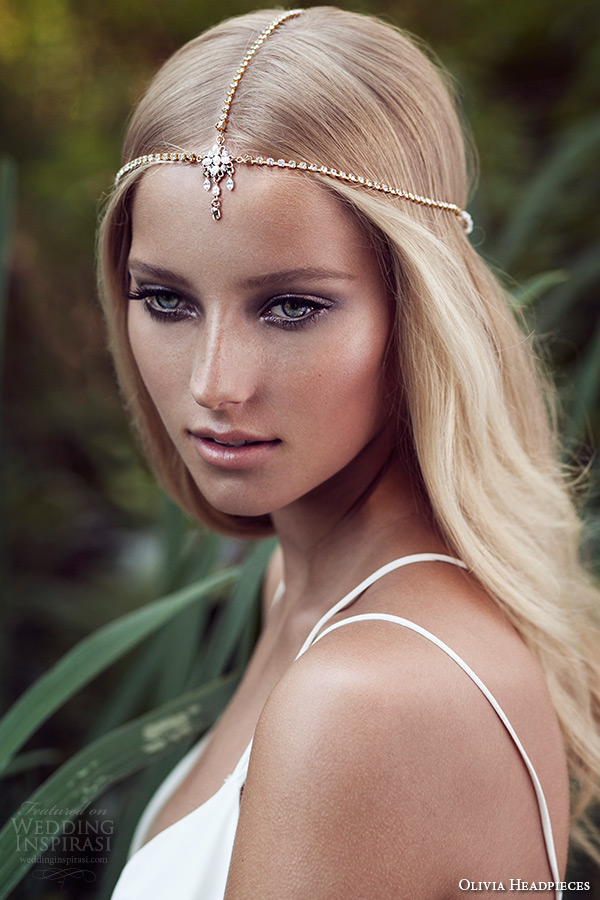 Olivia Headpieces W Label Bridal Hair Accessories Wedding Inspirasi