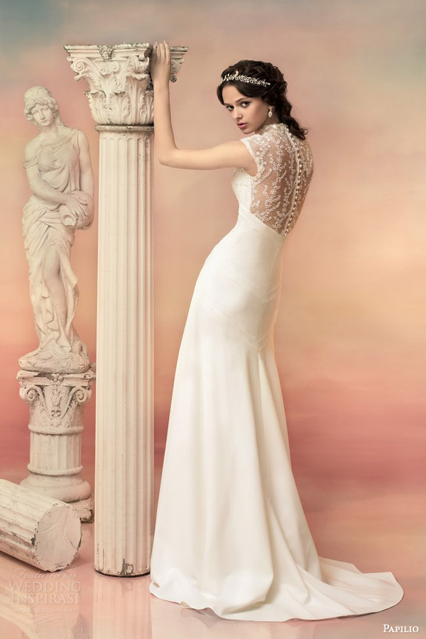 Beaded Lace Wedding Gown