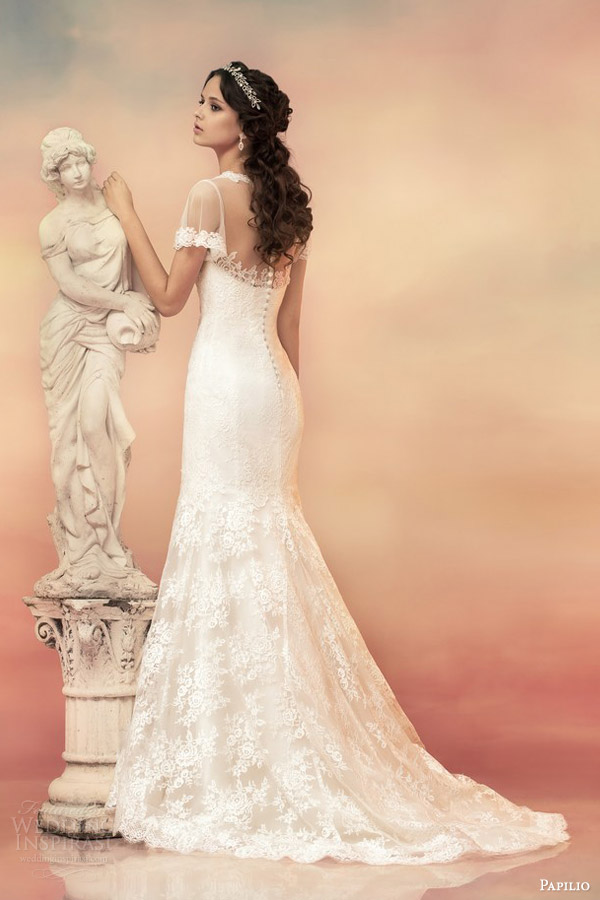 Organza And Lace Wedding Dress