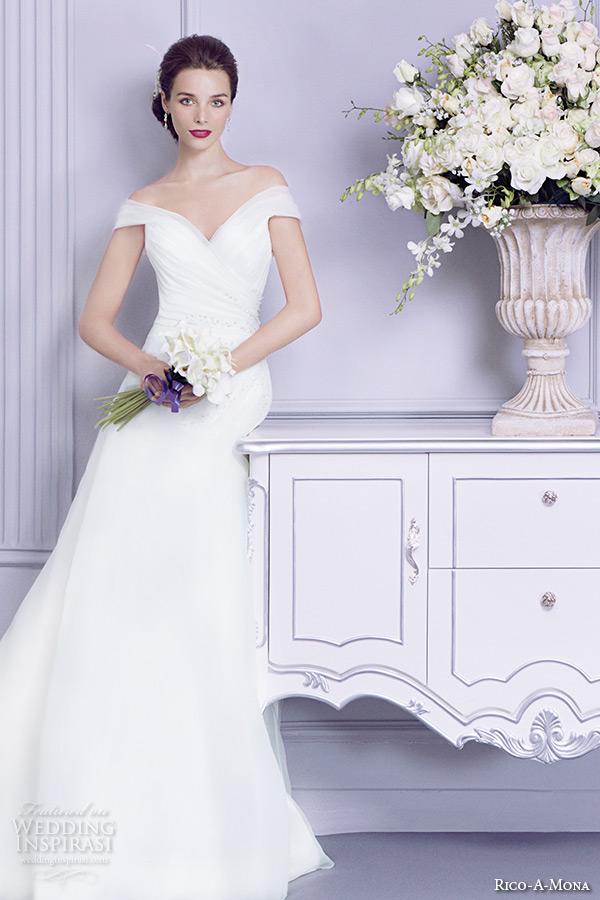 Parisian Wedding Dresses 39 Stunning rico a mona wedding