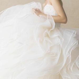 anteprima wedding dresses strapless ball gown ruffle skirt appliqued flower bodice ant0066