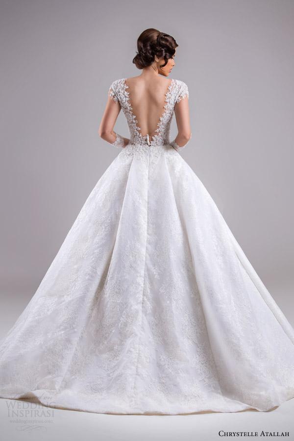 Chrystelle Atallah Spring 2015 Wedding Dresses Jeanette
