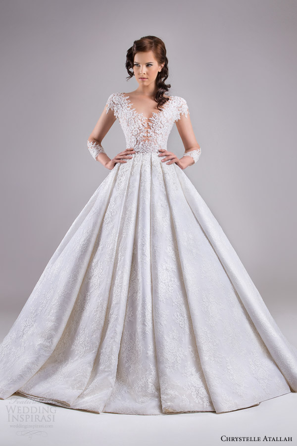 Chrystelle Atallah Spring 2015 Wedding Dresses — Jeanette Bridal ...