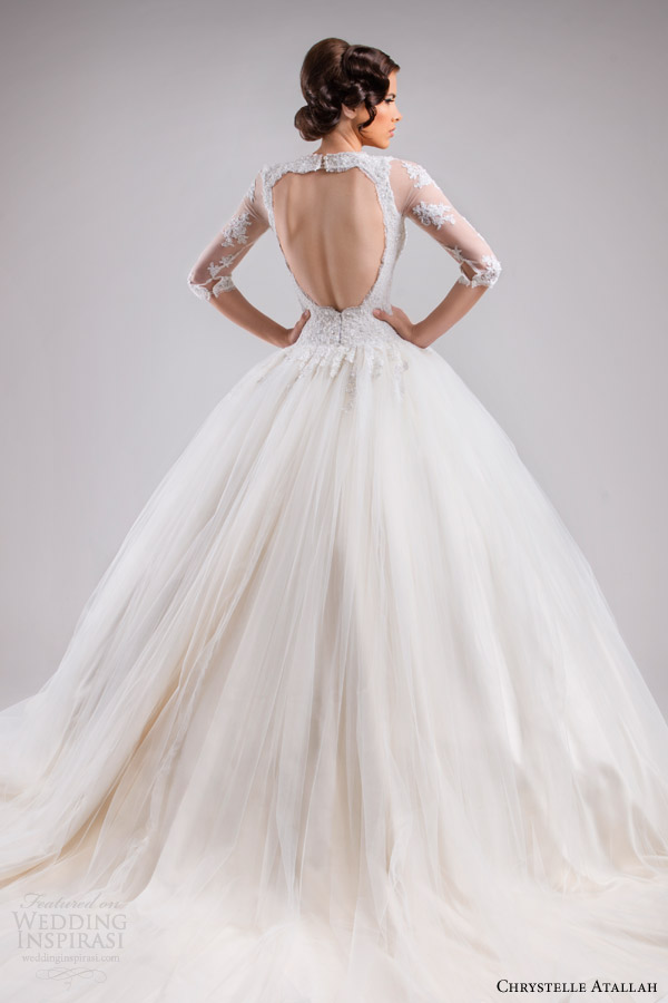 Chrystelle atallah spring 2015 wedding dresses jeanette for Fairytale ball gown wedding dresses