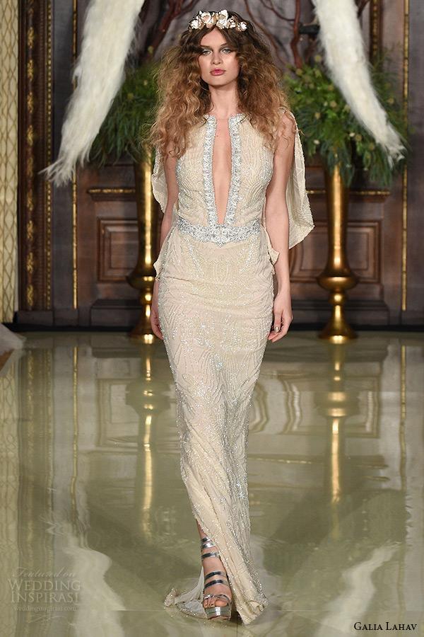 Blush Low Back Wedding Dress : Galia lahav spring wedding dresses les r?ves
