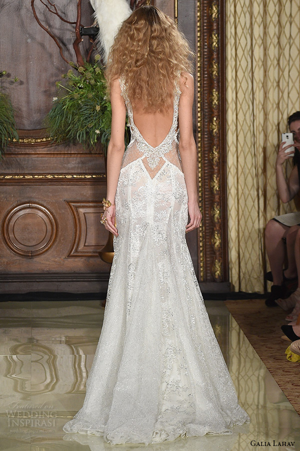 Drop Back Wedding Dress 20 Epic galia lahav wedding dress