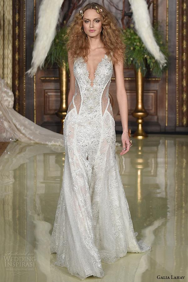 Drop Back Wedding Dress 31 Good galia lahav wedding dress