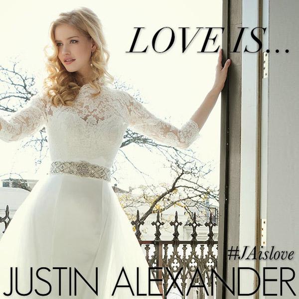 justin alexander contest love is jaislove win a wedding dress