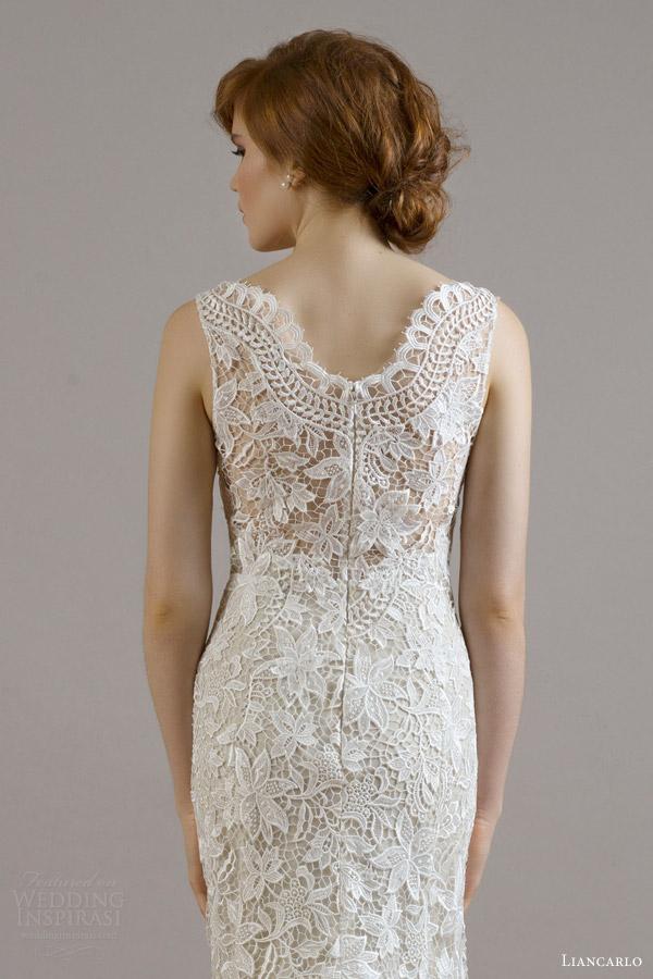 Guipure Lace Wedding Dress 14 Unique liancarlo bridal fall wedding
