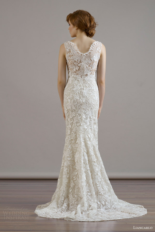 Guipure Lace Wedding Dress 16 Stunning liancarlo bridal fall wedding
