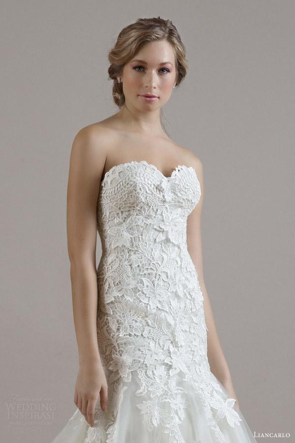 Guipure Lace Wedding Dress 5 Fancy liancarlo bridal fall wedding