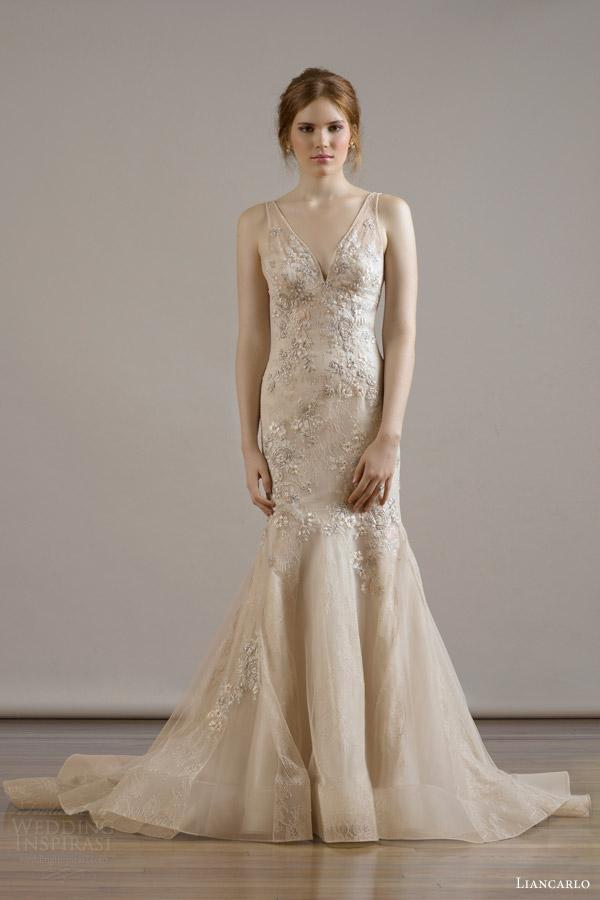 Beige Wedding Gown 6 Superb liancarlo bridal fall wedding