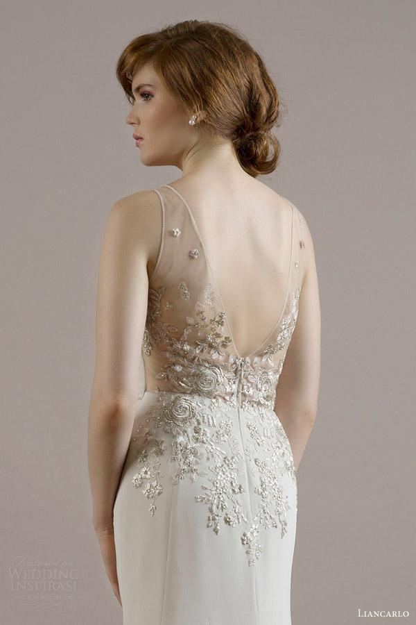 Beige Wedding Gown 31 Fresh liancarlo bridal fall wedding