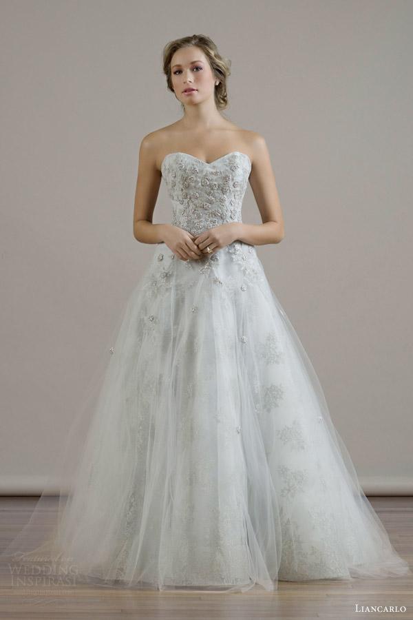 Beige Wedding Gown 82 Nice liancarlo bridal fall wedding