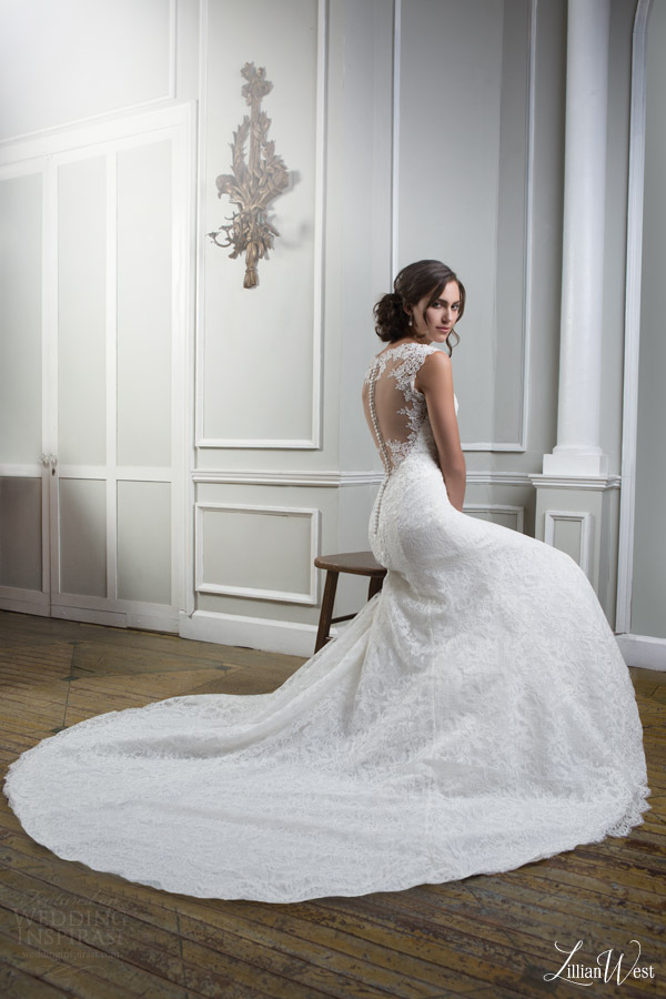 Lillian west 2016 collection win a justin alexander for Win free wedding dress