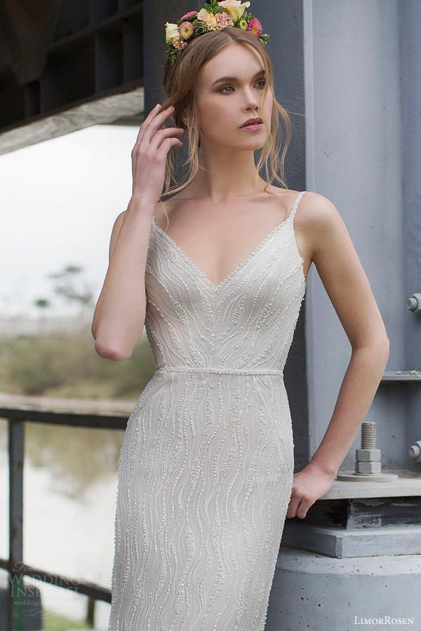 Art Deco Wedding Dresses 59 Best limor rosen blanch sleeveless