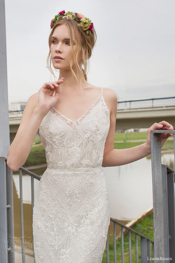 Art Deco Wedding Dresses 15 Good limor rosen norma sleeveless