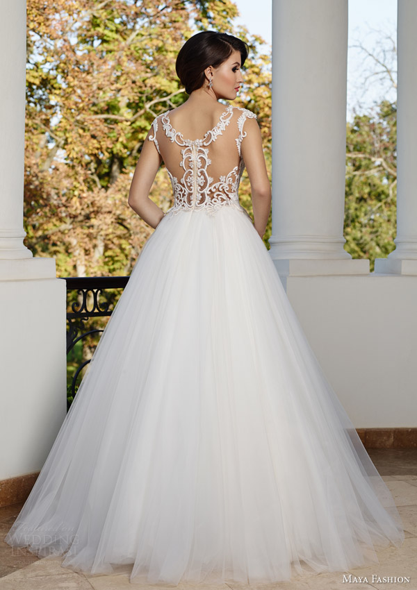 Maya fashion 2015 wedding dresses royal bridal for Dresses that can be used as a wedding dress