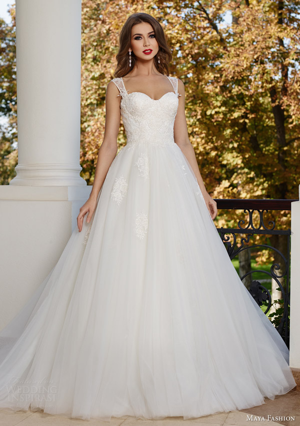 Maya Fashion 2015 Wedding Dresses - BridalPulse