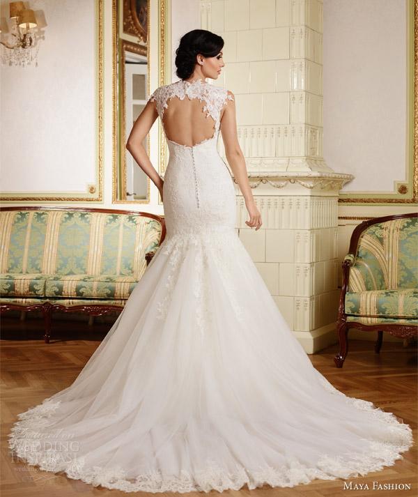 Best Wedding Gowns 2015: Maya Fashion 2015 Wedding Dresses