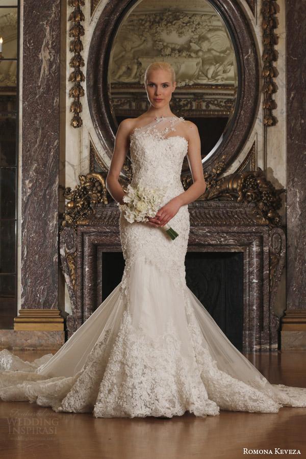 French Lace Wedding Dresses 18 Fabulous romona keveza spring luxe