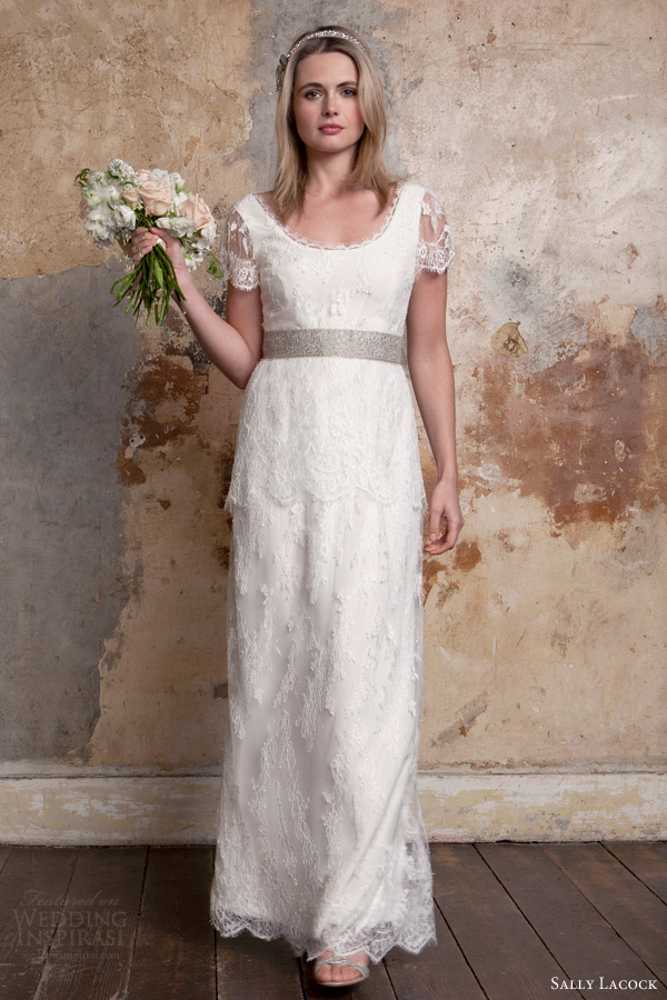 Sally lacock vintage inspired wedding dress collection for Vintage wedding dresses 1920s