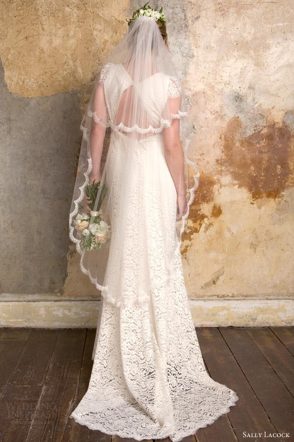 Lace Wedding Dress With Keyhole Back 44 Popular sally lacock bridal elise