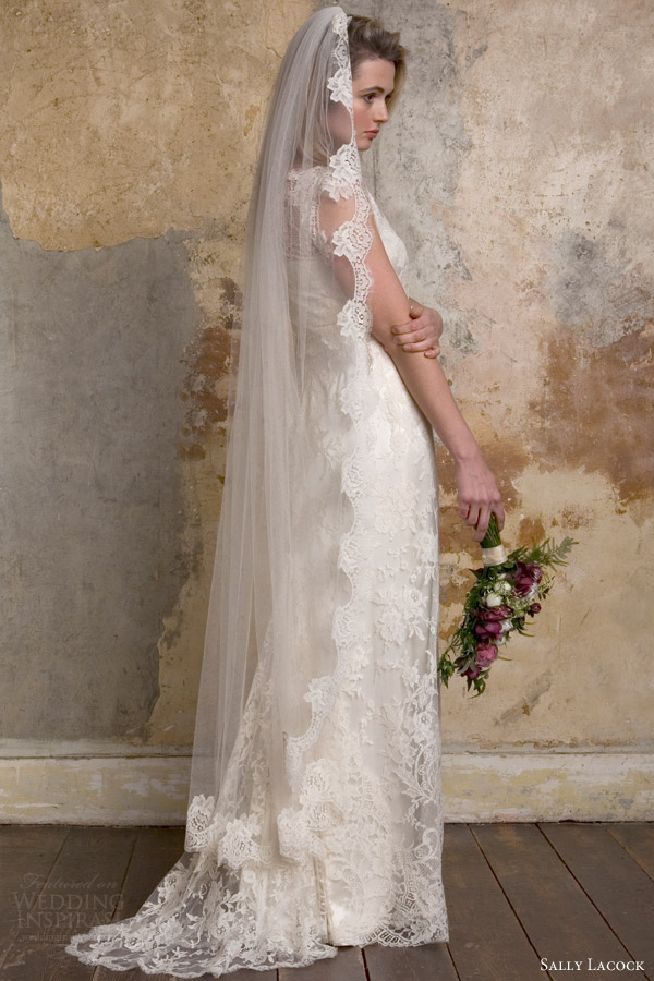 Sally lacock vintage inspired wedding dress collection for 40s style wedding dress