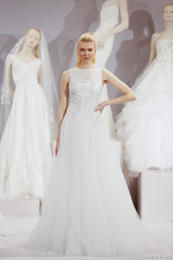 Sleeveless Wedding Dress 83 Beautiful tony ward spring new