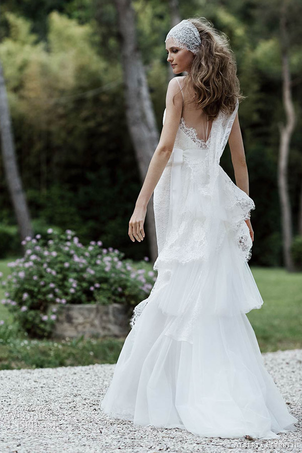 Wedding Dress Trim 12 Nice alberta ferretti bridal vittoria