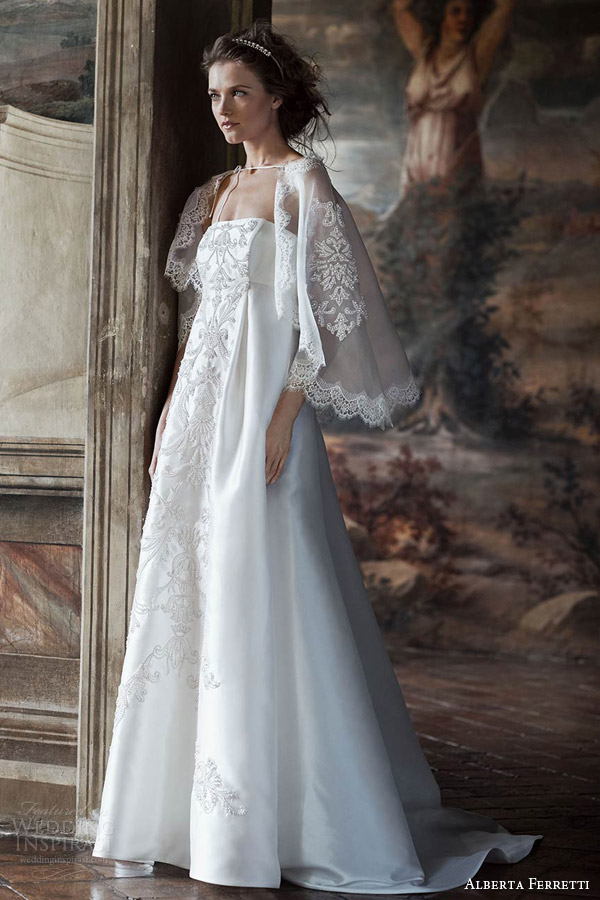 Alberta ferretti bridal forever 2016 wedding dresses for Romanian wedding dress designer