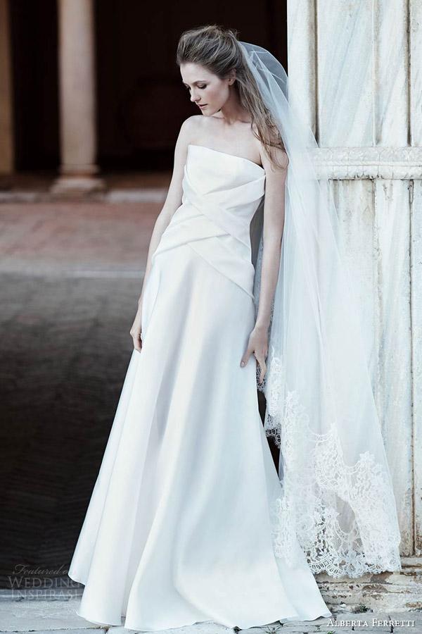 Aurora Wedding Dress 26 Superb alberta ferretti bridal spring