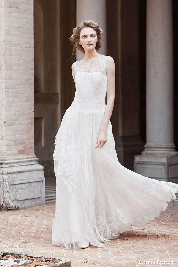 Aurora Wedding Dress 22 Lovely alberta ferretti bridal spring