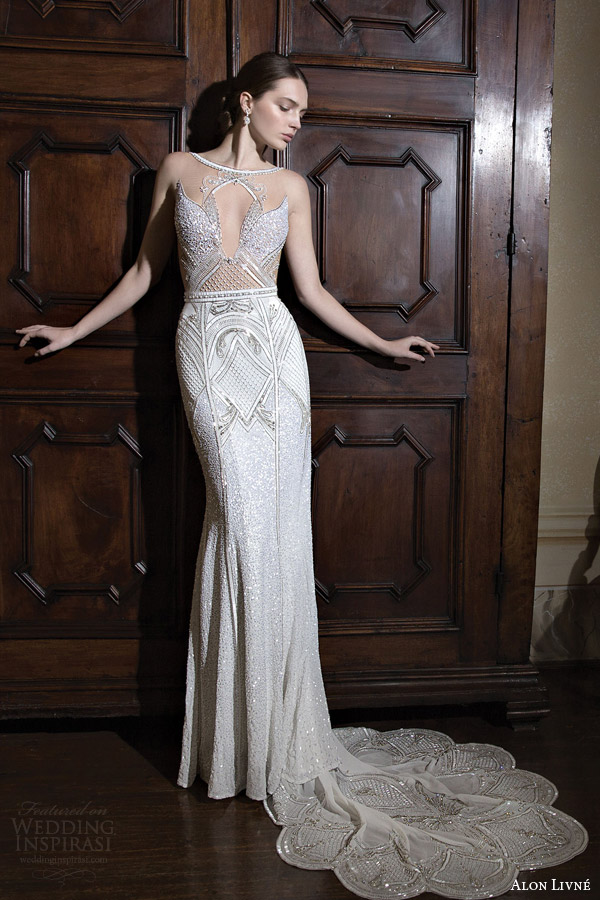 Alon Livne White 2015 Bridal Couture Collection Wedding Inspirasi