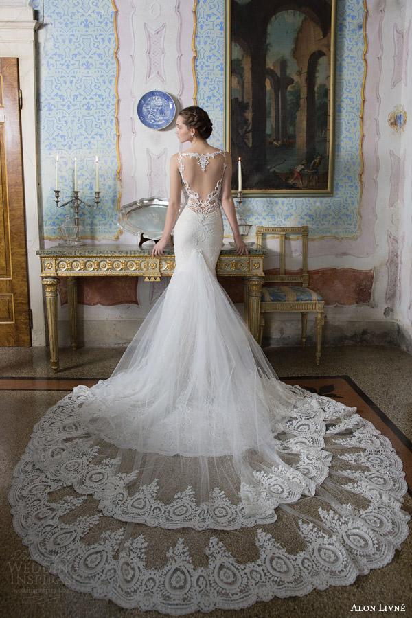 Vintage Backless Wedding Dresses 94 Superb alon livne white bridal
