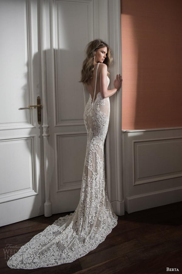 Berta bridal fall 2015 wedding dresses wedding inspirasi for Fall lace wedding dress