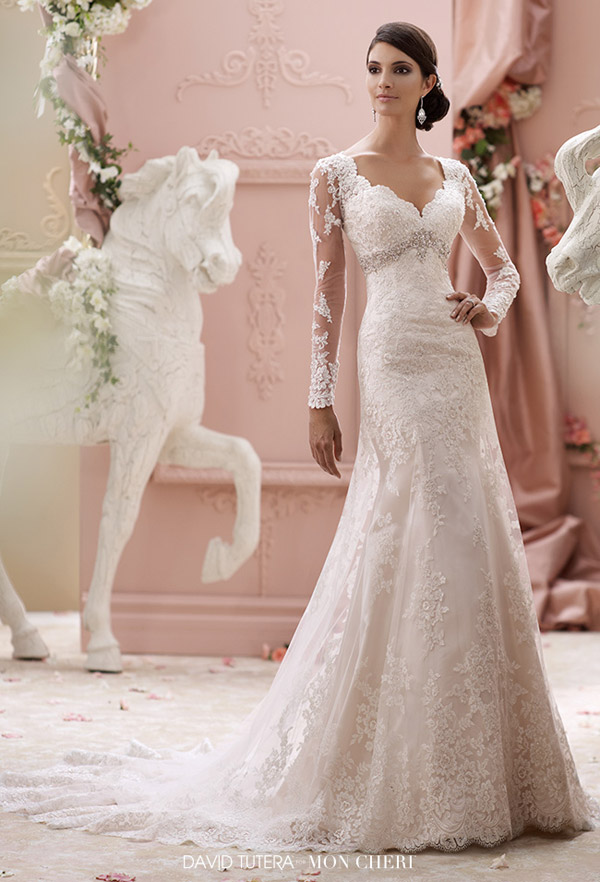 David Tutera for Mon Cheri Spring 2015 Collection Highlights ...