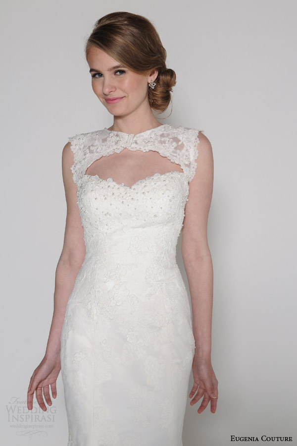 Lace Wedding Dress Topper Eugenia Couture Spring Dresses
