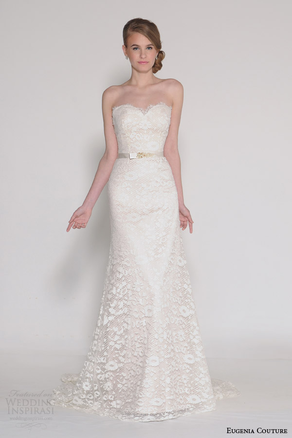 Couture Wedding Dresses Brigg : Couture bridal spring phoebe strapless sweetheart wedding dress