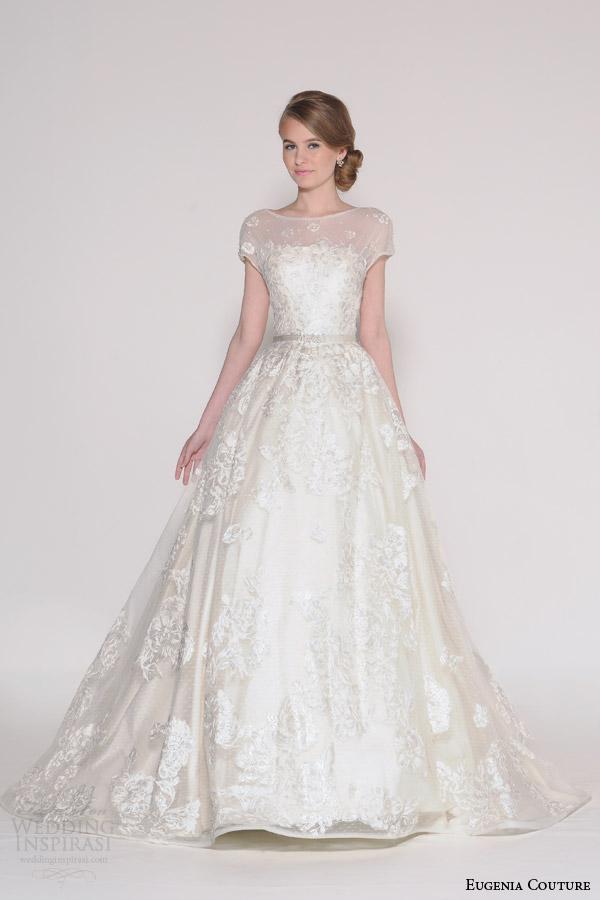 Eugenia couture spring 2016 wedding dresses wedding for Short spring wedding dresses