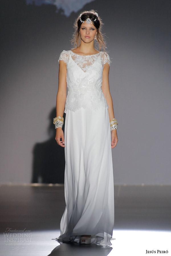 Simple Cotton Wedding Dress 37 Elegant jesus peiro bridal nanda