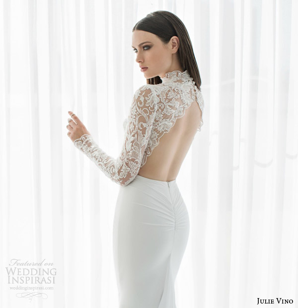 Modern Long Sleeve Wedding Dresses 28 Good julie vino bridal spring
