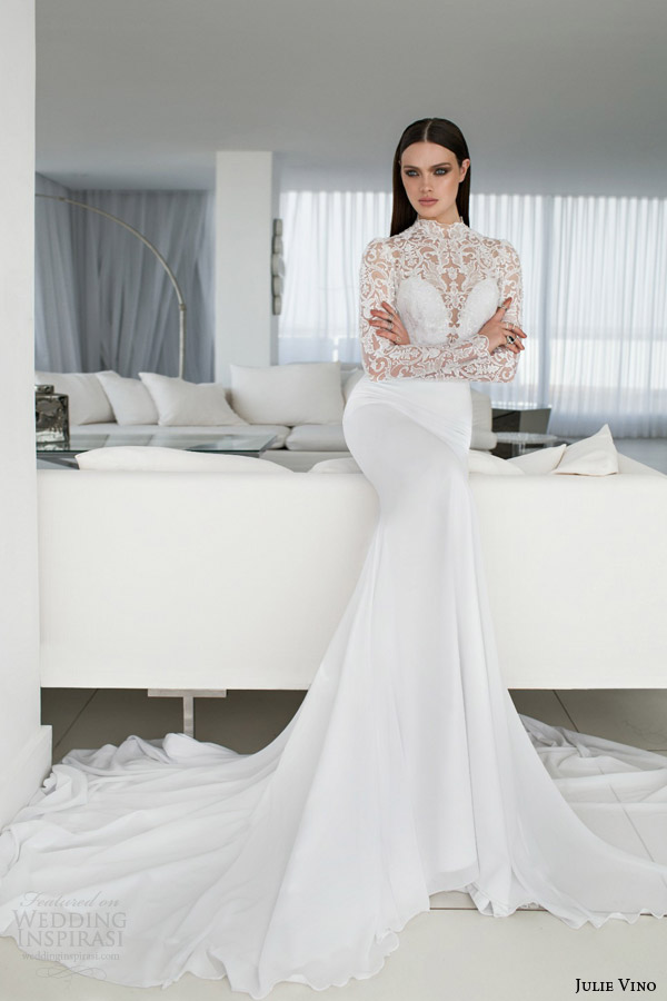 Julie Vino Spring 2015 Wedding Dresses Part 2 Empire And Urban Bridal Collections Wedding Inspirasi