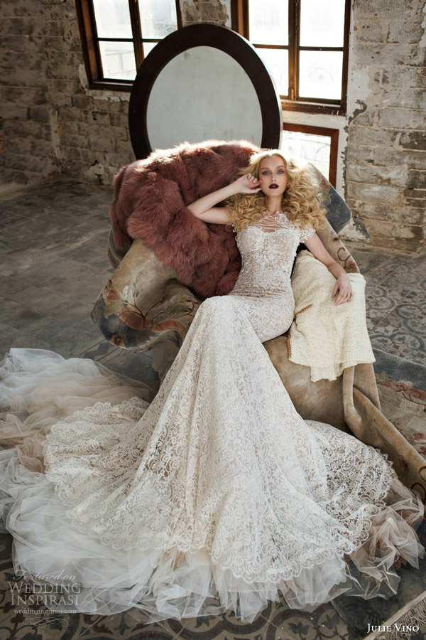 Julie Vino Spring 2015 Wedding Dresses Part 1 Mystic