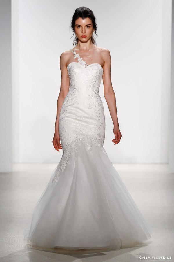 kelly faetanini bridal spring 2016 atica sweetheart neckline wedding dress one shoulder strap