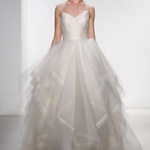 kelly faetanini bridal spring 2016 corrine sleeveless ball gown wedding dress crystal beaded straps