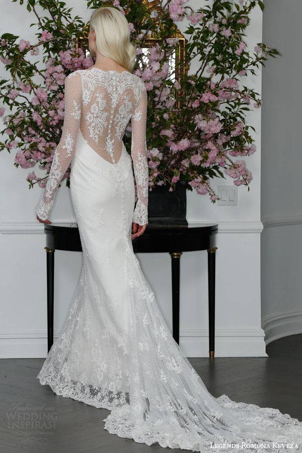 Legends romona keveza spring 2016 wedding dresses for Wedding dress illusion back